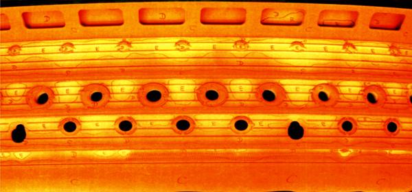 Жаровая труба камеры сгорания