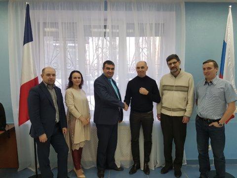 деловая встреча GAROS Group и ЭЛ-СКАДА