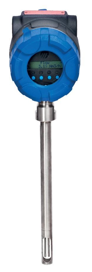 Массовый расходомер на газ Thermatel Enhanced TA2 с зондом